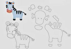 caritas de bebes en foami moldes - Buscar con Google