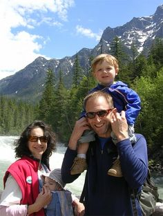 A photo of Jim and his family enjoying the great outdoors in Montana