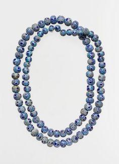 String of ninety-seven glass eye beads. Date: 6th–4th century B.C. Culture: Greek, Eastern Mediterranean. | © 2000–2014 The Metropolitan Museum of Art.