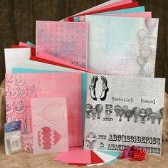 Club Scrap Creates: Up Up & Away February kit