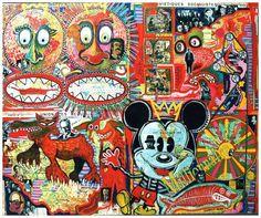 Francis Moreeuw, artiste peintre du nord : galerie d'art contemporain