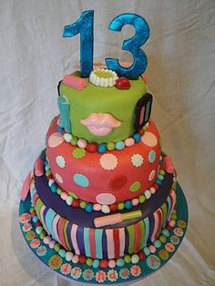 Birthday Cake Ideas For 13 Yr Old Girl : 1000+ images about 13 birthday ideas on Pinterest Cheer ...