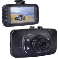 Automotive 1080p HD Dash Cam with Night Vision 2.7 LCD Screen & Windshield Mounting (Records to microSD Card)