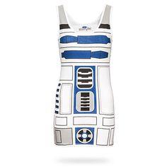 R2-D2 Ladies' Tunic Tank