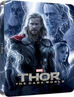 Thor: Dark World 3D (Includes 2D Version) - Zavvi Exclusive Lenticular Edition Steelbook #Thor #Marvel