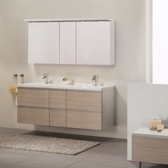 Foss Bad Variant 150 cm dobbel m/speilskap - Lilly is Love Bathroom Interior, Bathroom Ideas, Double Vanity, Master Bathroom, New Homes, Design, Home Decor, Modern, Bathing