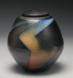 Lightening Jar by David Crane David Crane, Earthenware, Stoneware, Minimalist Room, Jar Lids, Ceramic Artists, Decorative Objects, Ceramic Pottery, Luxury Homes