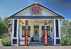 vintage gulf station stuff   Gulf Gas   Flickr - Photo Sharing!