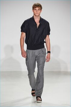 New York-based fashion brand Cadet presented its spring-summer 2017 collection, entitled Roman Legion during New York Fashion Week: Men. Designers Raul Arevalo and Brad Schmidt took inspiration from a recent Italian holiday. Citing Italian art, architecture, and fashion as inspiration, the designers discovered a softer edge for their signature military aesthetic. Approaching the season, first... [Read More]