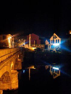 Boa noite :D A Ponte Velha de Arcos de #Valdevez em modo refexo incompleto e imperfeito - http://ift.tt/1MZR1pw -