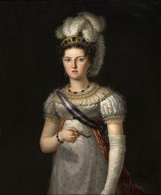 Francesco Lacoma y Fontanet (1778-1849) - Maria Josepha of Saxony, Queen of Spain (1803-1829), c. 1820