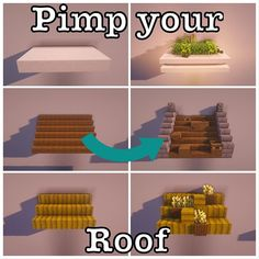 How to transform your Minecraft roof in something amazing! Shader: BSL Version: By