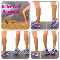 Killer Calf Workout - No Gym Required! | Toned  Fit