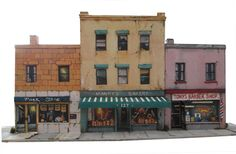 Print out scenery for your model railroad