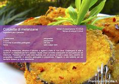 Questa Domenica Cotoletta di melanzane! https://www.prenotareinsicilia.it/ristoranti-in-sicilia.html?utm_content=buffer3dbd7&utm_medium=social&utm_source=pinterest.com&utm_campaign=buffer Buon appetito da PrenotareinSicilia.it