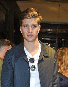 Fashion : Toby Huntington-Whiteley at Burberry Breakfast during LFW mens.