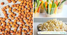 These protein packed healthy snacks are great for the 3PM lull