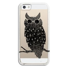 iPhone 6 Plus/6/5/5s/5c Bezel Case - Fancy owl (290 NOK) ❤ liked on Polyvore featuring accessories, tech accessories, iphone case, apple iphone cases, iphone cover case and iphone cases