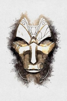 """A Tribute to JHIN"" Digital Art by Dusan Naumovski posters, art prints, canvas prints, greeting cards or gallery prints. Find more Digital Art art prints and posters in the ARTFLAKES shop. Lol League Of Legends, League Of Legends Characters, Jhin Mask, Masks, Twitch League, Jhin The Virtuoso, League Of Legends Personajes, Mask Drawing, Canvas Prints"
