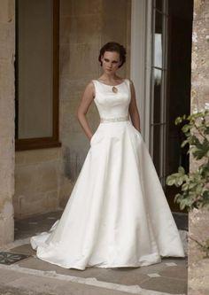 7beb5b745f3b Topaz from Opulence by Natalie M. Wedding Dress With Pockets, Perfect Wedding  Dress,