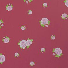 Behang, schattige roosjes (niet meer leverbaar)