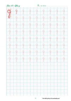 Bản mềm vở mẫu tập viết 29 chữ cái dành cho học sinh lớp 1 cỡ 4 ô ly Kids Math Worksheets, Math For Kids, Bullet Journal, Words, Stenciling, Writing Notebook