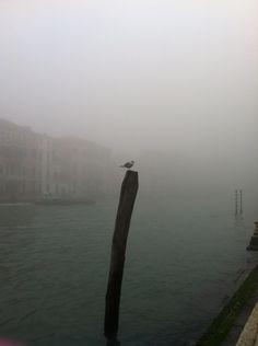 Venezia con la nebbia