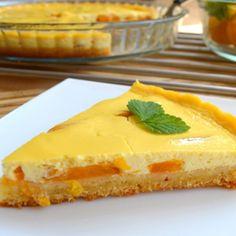 Recept na meruňkový koláč s tvarohem krok za krokem - Vaření.cz