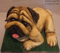Pug Dog   https://www.facebook.com/pages/Mother-Me/227714550658081