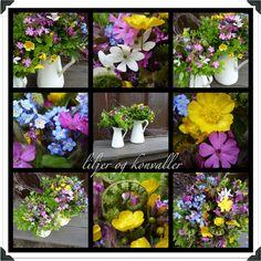liljer og konvaller: sommer