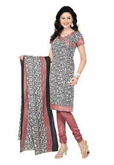 Fabdeal Indian Designer Printed Cotton Grey Printed Salwar Kameez Fabdeal, http://www.amazon.co.uk/dp/B00INWRVU4/ref=cm_sw_r_pi_dp_KeNntb1CD1CAR