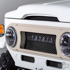 Finally completed!  The 1974 Toyota LandCruiser FJ43 White. See related pics for this car #fjco1974white The hi-res studio shots for this car are available at www.fj.co #fjrestoration #fj43 #4x4