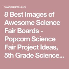 how to write an analysis for a science fair project