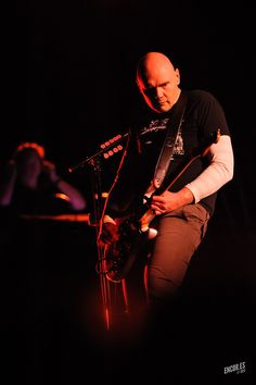 Billy Corgan of Smashing Pumpkins Photo by Jason Stoff, St. Louis