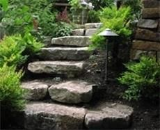 Rock and stonework landscaping ideas. Photos provided by Environmental Construction, serving Seattle and Northwest Washington since Landscape Designs, Garden Landscape Design, Landscaping With Rocks, Front Yard Landscaping, Landscaping Ideas, Backyard Ideas, Mulch Landscaping, Landscape Stairs, Landscape Architecture