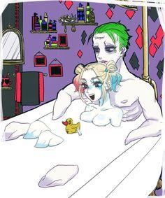 Joker Harley Quinn art