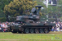 Type 87 35 mm Self-Propelled Anti-Aircraft Gun System (Japan)