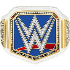 WWE SmackDown Women's Championship Replica Title ❤ liked on Polyvore featuring wwe