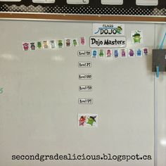 Class Dojo rewards board like video game. Use this when it starts to lose its appeal on its own. 3rd Grade Classroom, Future Classroom, School Classroom, Classroom Ideas, Behavior Management System, Classroom Behavior Management, Class Management, Classroom Discipline, Class Dojo Rewards