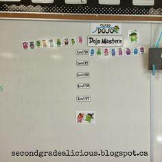 Class Dojo rewards board. #classroommanagement