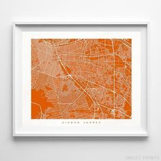 314 Best Foreign Country Street Map Wall Art Print by Inkist Prints