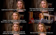 I just have something I want to say ~ Bridget Jones's Diary (2001) ~ Movie Quotes