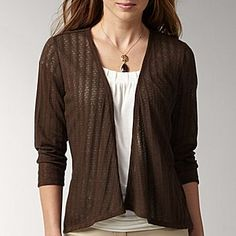 I just might have to get this lightweight sweater..