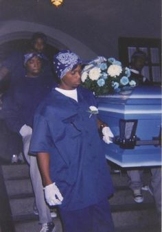 Crips funeral