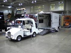 She is a 1997, 48V Club Car replica Rollz Royce or Royal Ride by the Elmco Company.