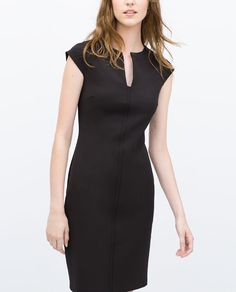 Image 3 of TUBE DRESS WITH RAGLAN SLEEVES from Zara