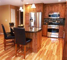 Traditional Kitchen Peninsula Raised Ranch Kitchen Design