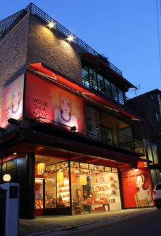 YOUK SHIM WON Store @ Garosu-gil, Seoul, Korea © GalleryAM Co., Ltd