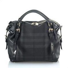 Burberry Check Satchel