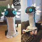 [Self] Casual Wiggler Head from Monster Hunter World (made by me not modeled by me)
